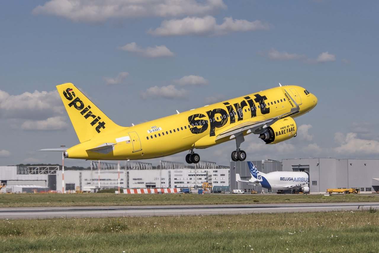 U.S.-based Spirit Airlines – which finalised a purchase agreement with Airbus for 100 A320neo Family aircraft – will receive a mix of A319neo, A320neo, and A321neo