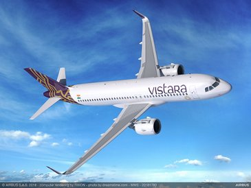 A320neo VISTARA