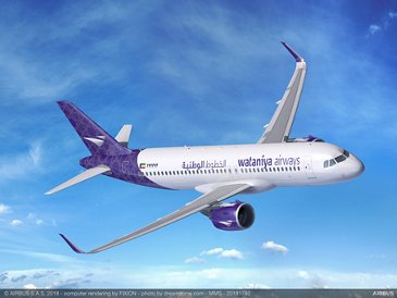 A320neo Wataniya Airways