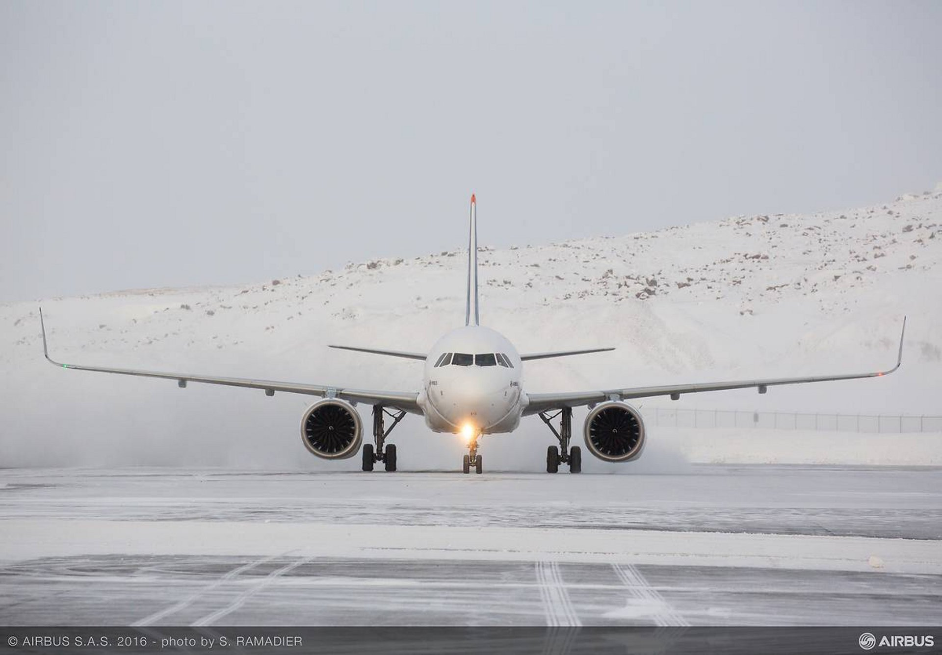 A320neo Msn6419 In Cold Weather