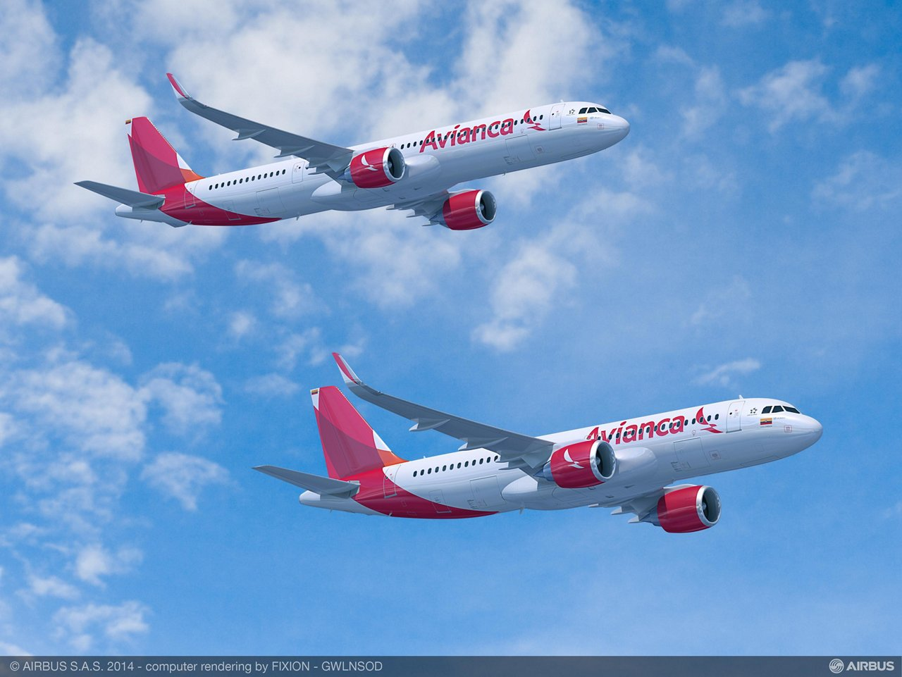 Avianca A320neo Family aircraft