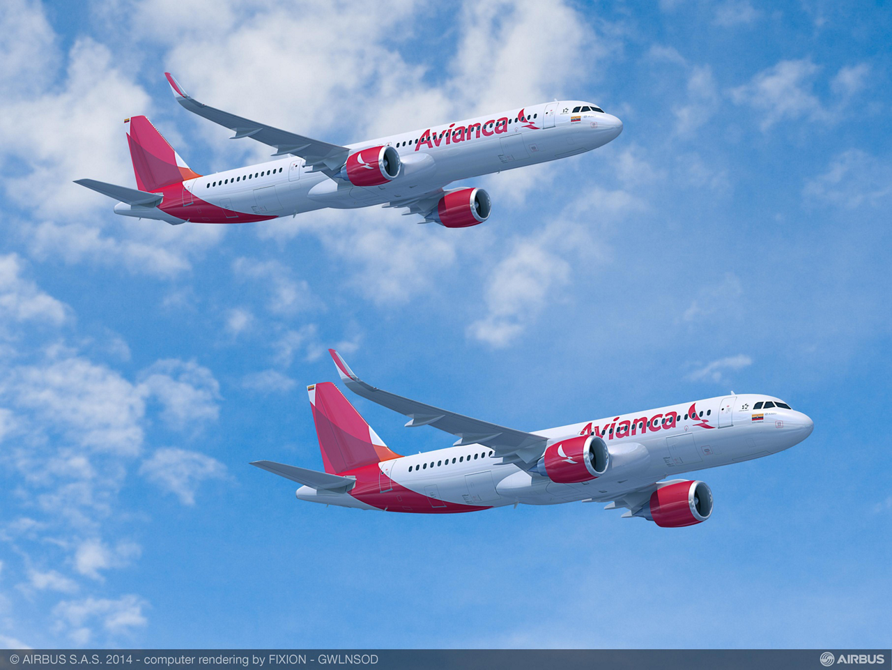 Avianca has signed a purchase agreement with Airbus for 100 A320neo (new engine option) Family aircraft, which is the largest single order ever made in Latin America's aviation history