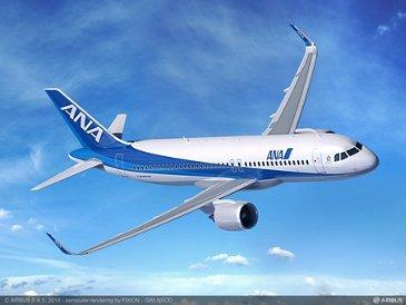ANA Holdings A320neo