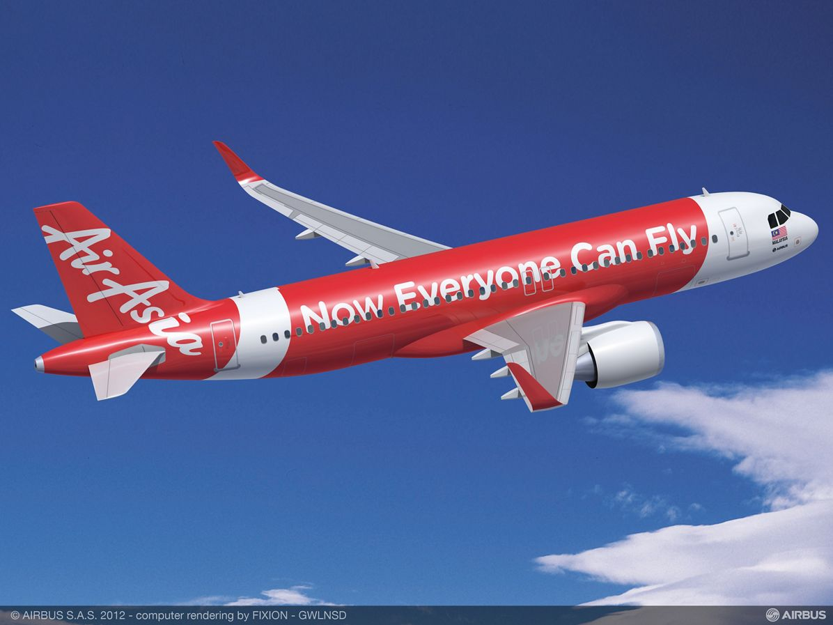 AirAsia orders 100 more A320s