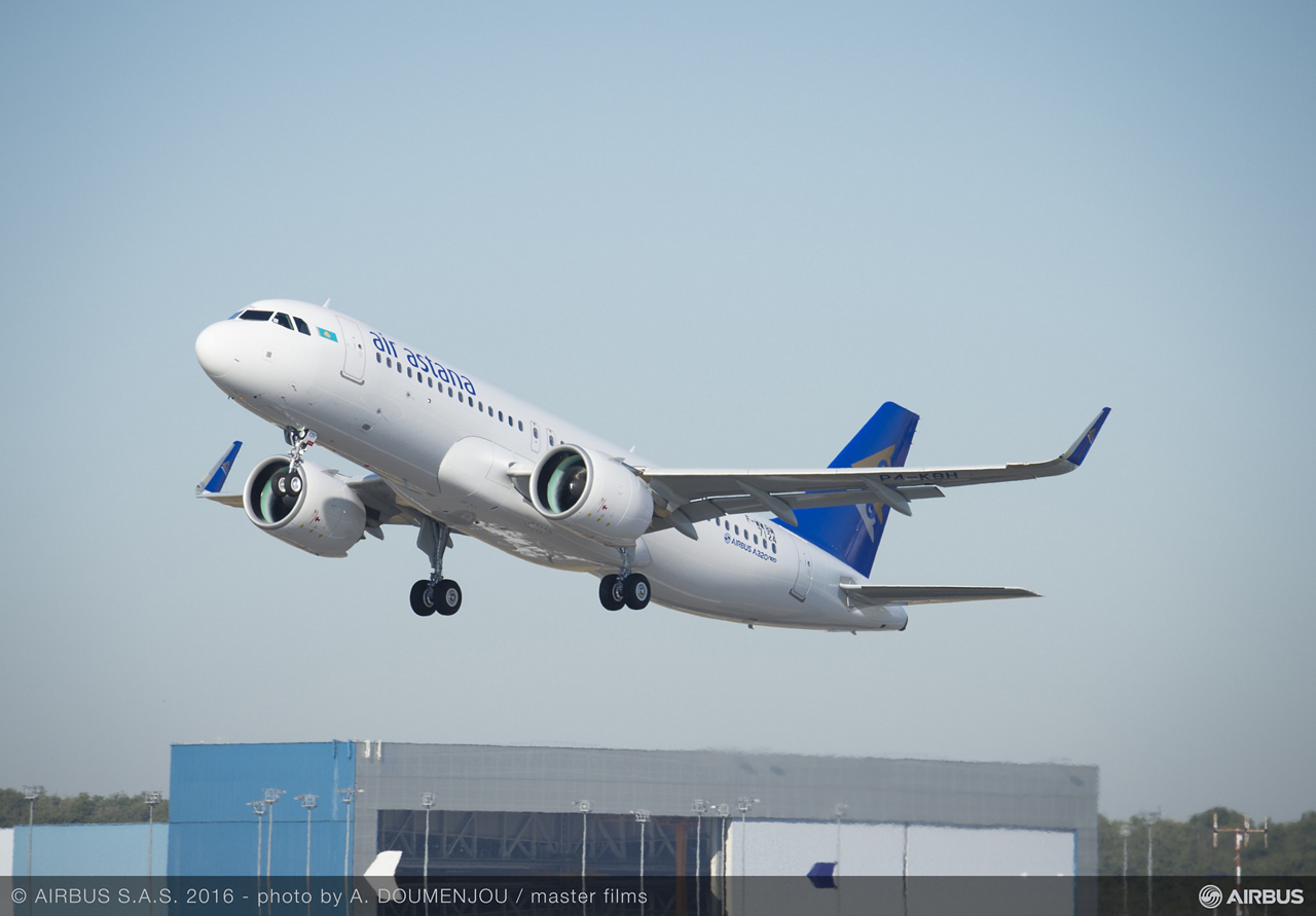 The flag carrier of Kazakhstan, Air Astana, has taken delivery of its first A320neo (new engine option) jetliner, which is on lease from Air Lease Corporation. The highly efficient aircraft is powered by Pratt & Whitney engines