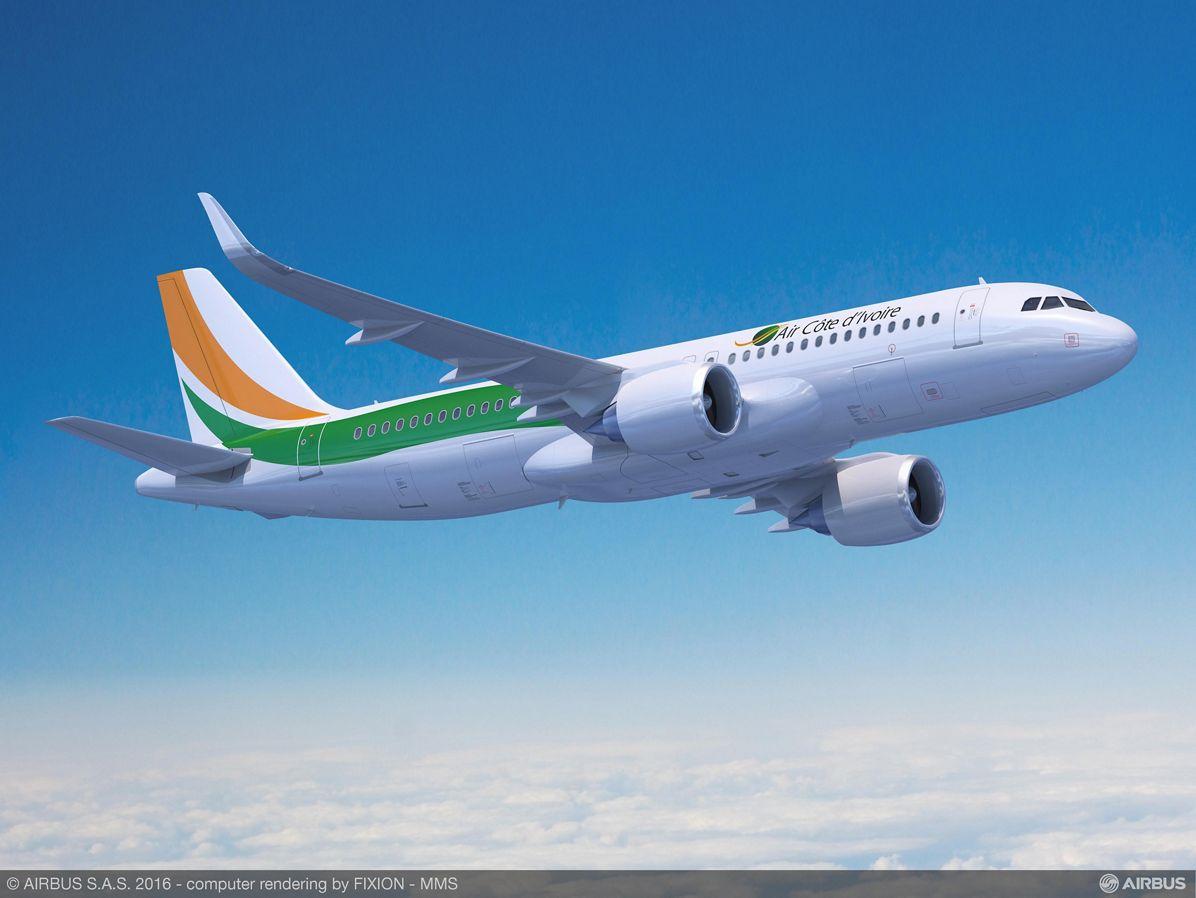 Farnborough Airshow_Day 1_Air Côte d'Ivoire A320neo 2