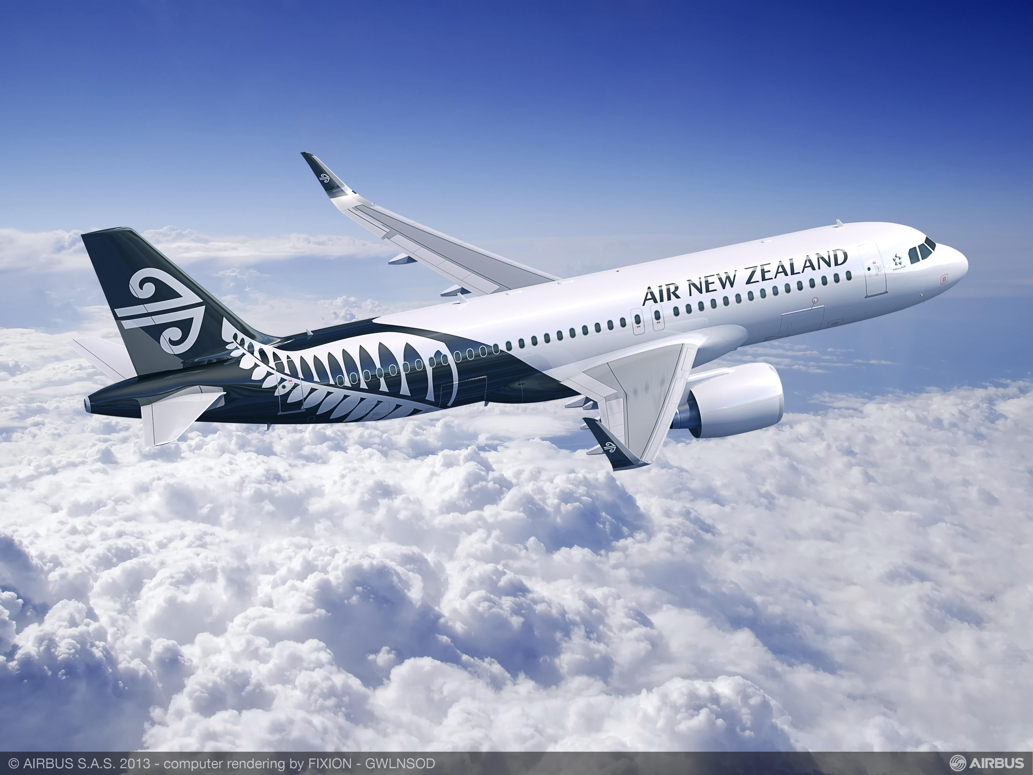 Air New Zealand Selects A320neo Family To Modernise Single