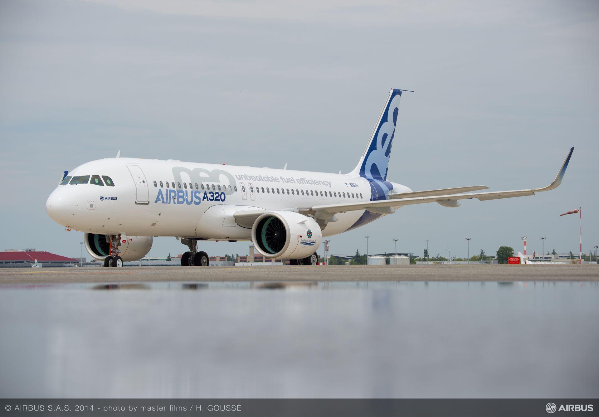 A320neo-Familie setzt mit 20 Prozent niedrigerem ...