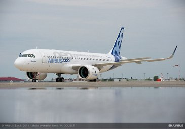 First A320neo to fly 2