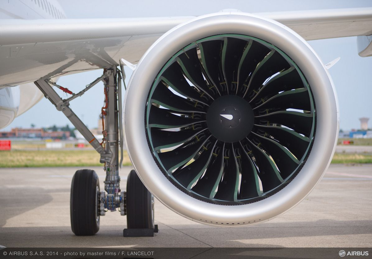 Pratt & Whitney PW1100G-JM A320neo engine 2