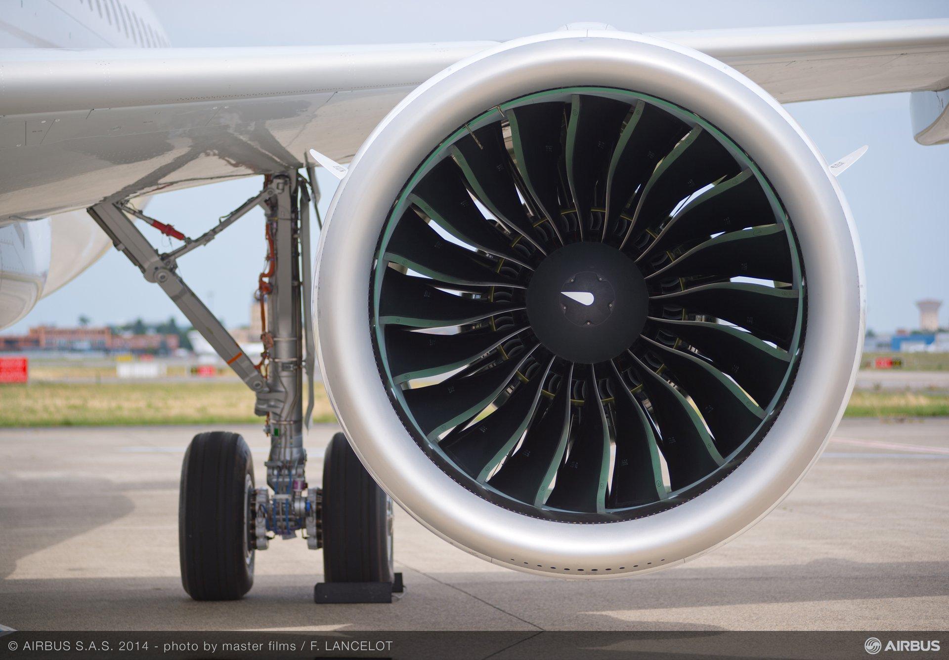 Pratt & Whitney PW1100G-JM A320neo engine 2