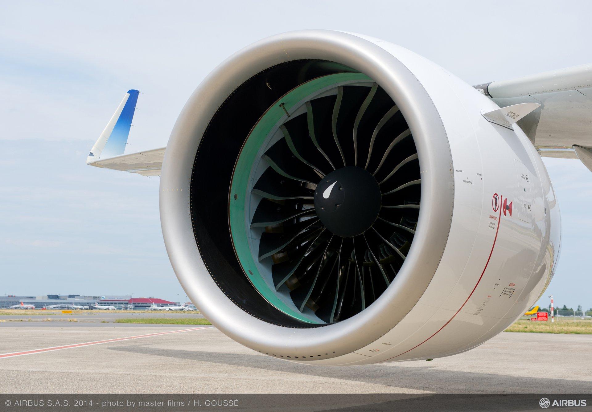 Pratt & Whitney PW1100G-JM A320neo engine