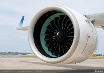 Pratt & Whitney PW1100G-JM A320neo engine