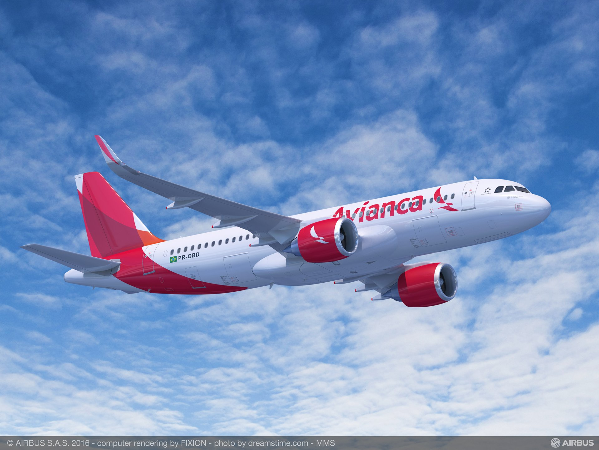 Avianca Brasil will add 62 A320neo Family aircraft as part of its fleet renewal and network growth strategy, with the purchase agreement finalized by Synergy Aerospace Corporation – which is the largest shareholder of Colombia-based Avianca and the owner of Avianca Brasil