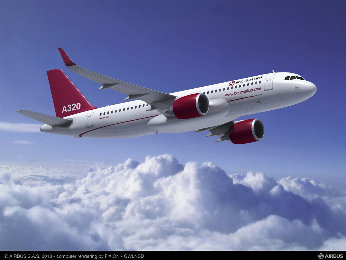 BOC Aviation orders 50 A320 Family aircraft, including 25 NEO