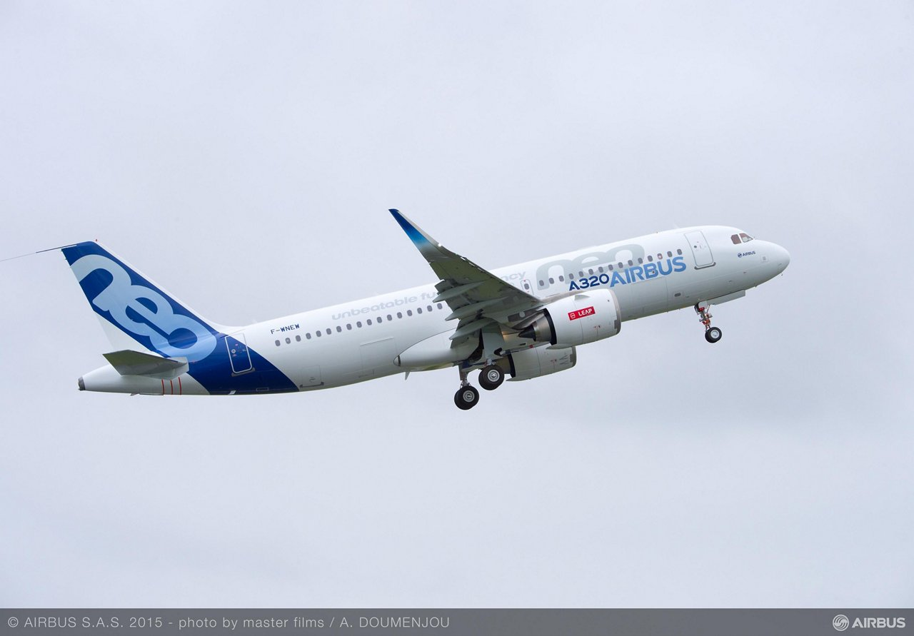 A320neo CFM TAKE OFF