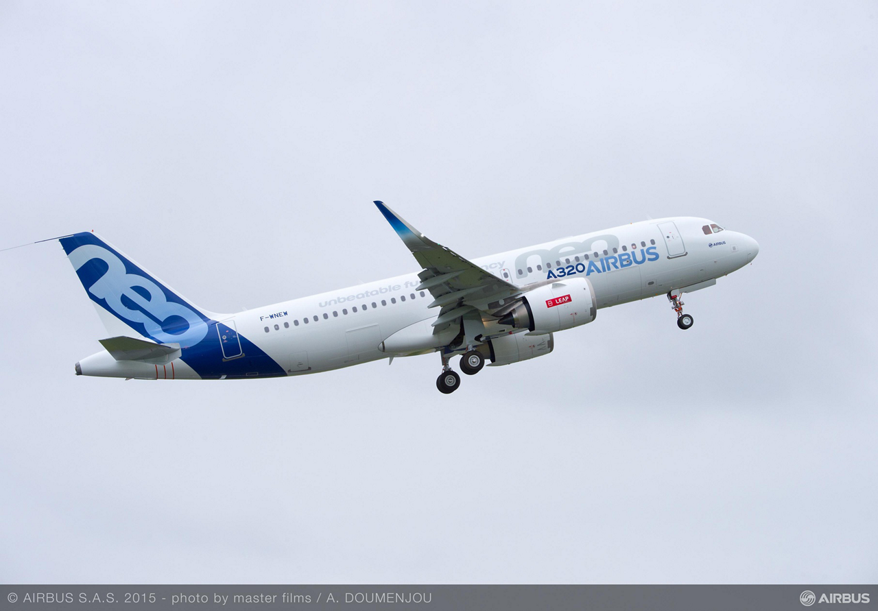 Airbus' A320neo received Type Certification from the European Aviation Safety Agency (EASA) and Federal Aviation Administration (FAA) for the second engine option to be certified – CFM International's LEAP-1A powerplant – on 31 May 2016