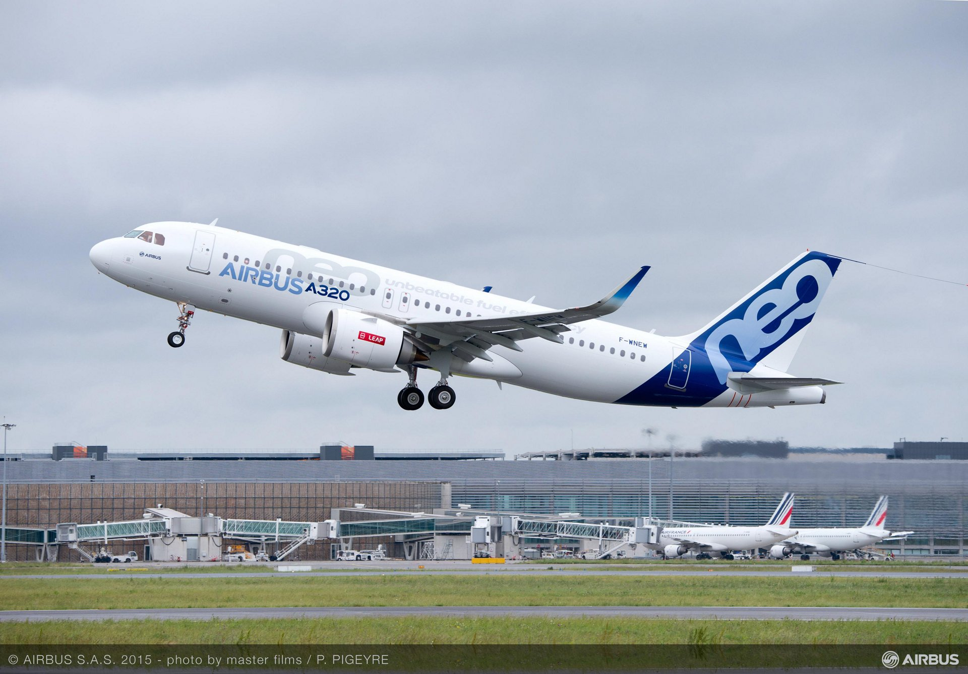 A320neo first flight with LEAP-1A