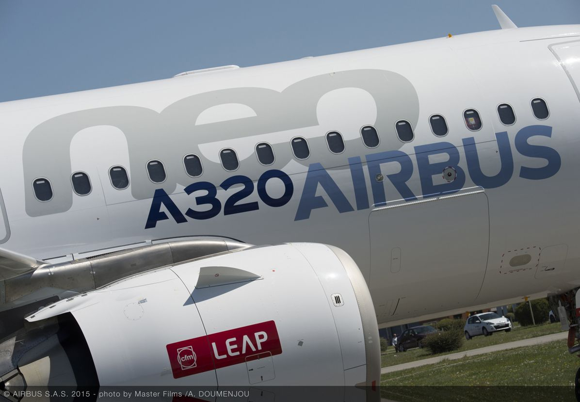 First CFM-powered A320neo rollout_1
