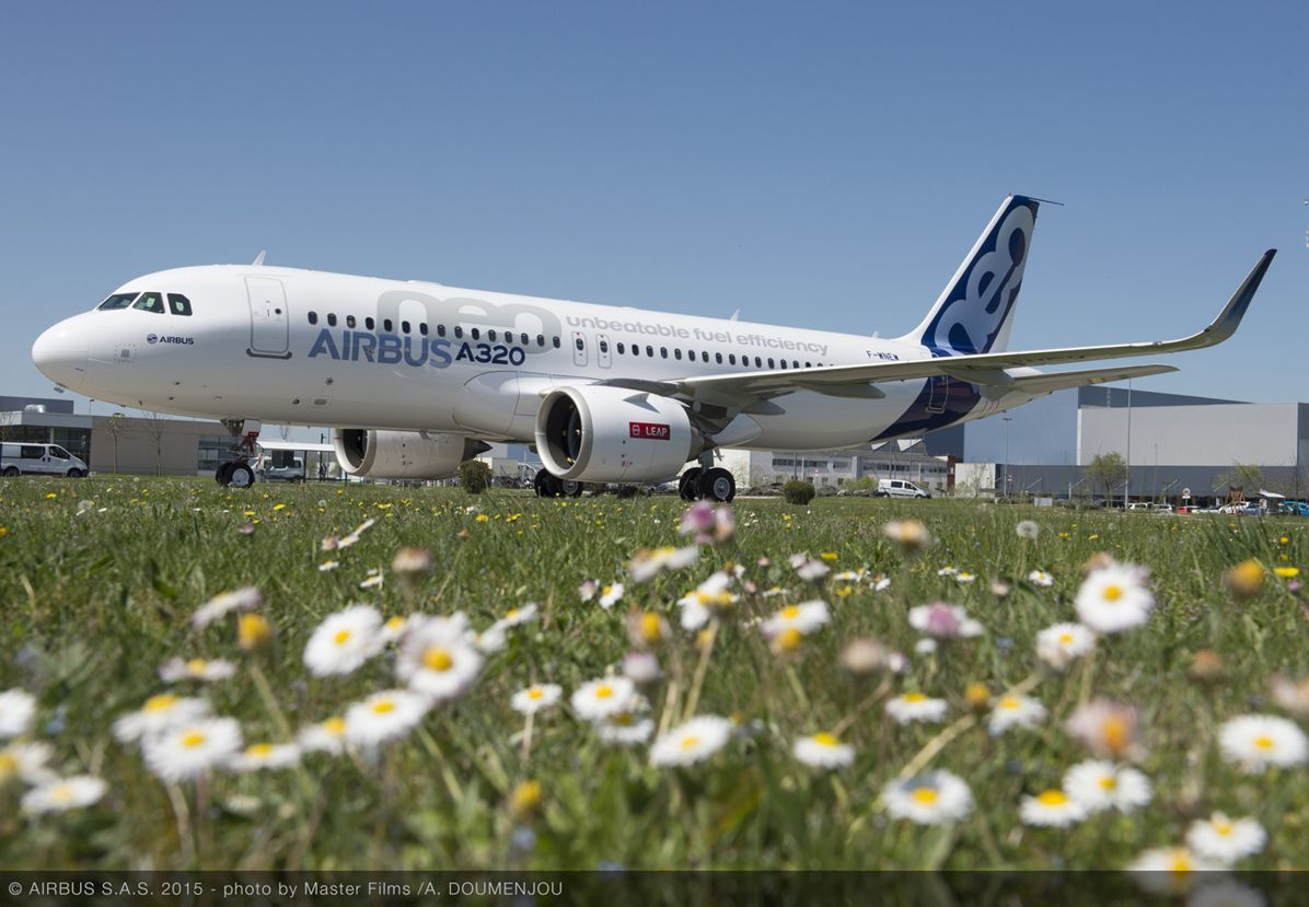 First CFM-powered A320neo rollout_2