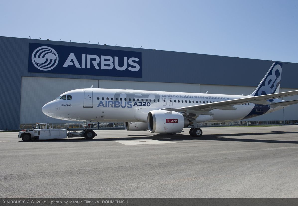 First CFM-powered A320neo rollout_4