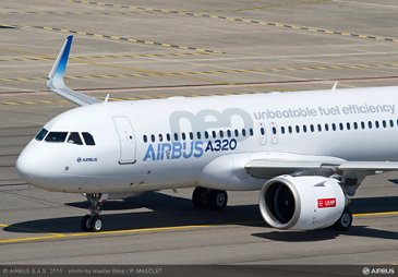 A320neo first flight with LEAP-1A_Taxiing