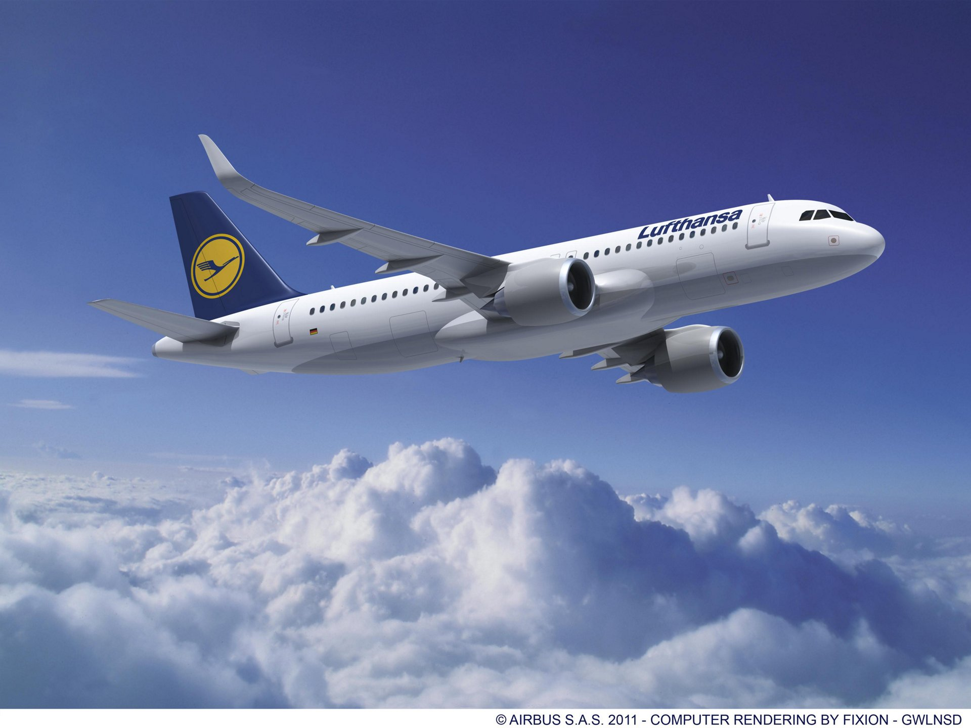 Paris Air Show – Lufthansa A320 Family 2