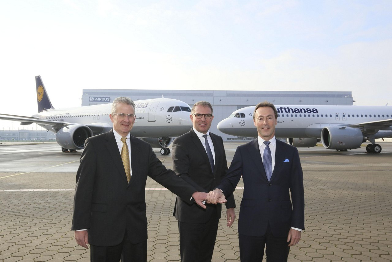 A320neo Delivery Lufthansa 2