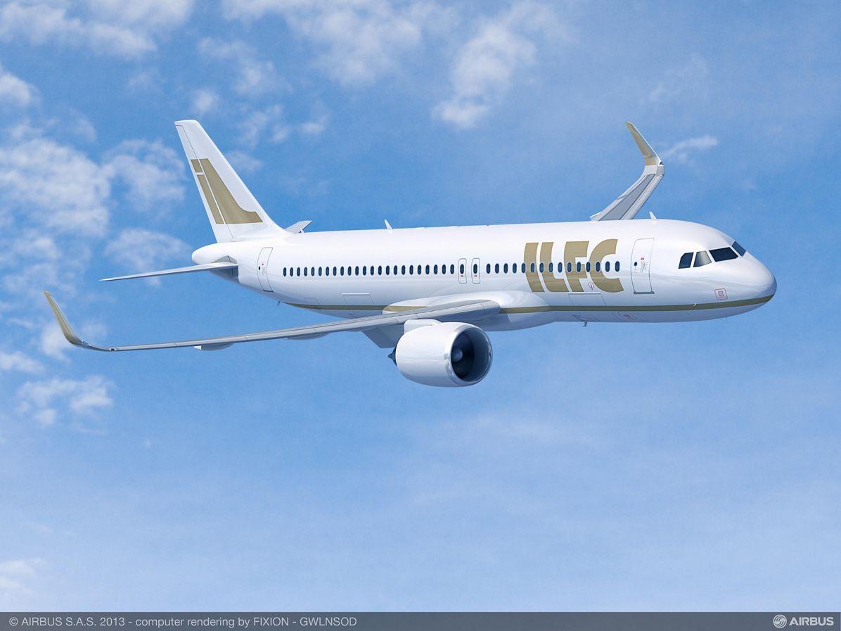 Paris Air Show – ILFC A320neo 1