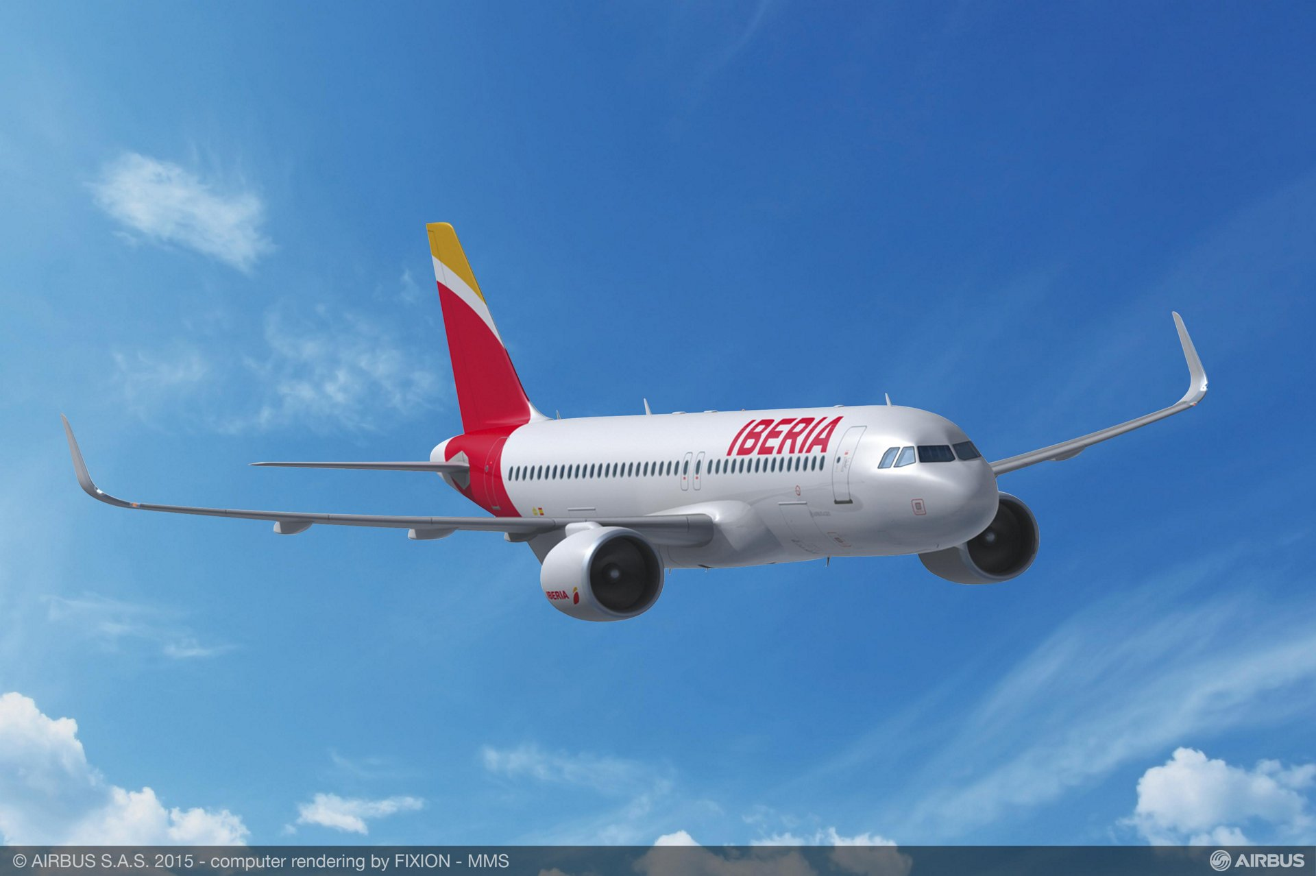 IAG firms up 15 A320neo orders_Iberia