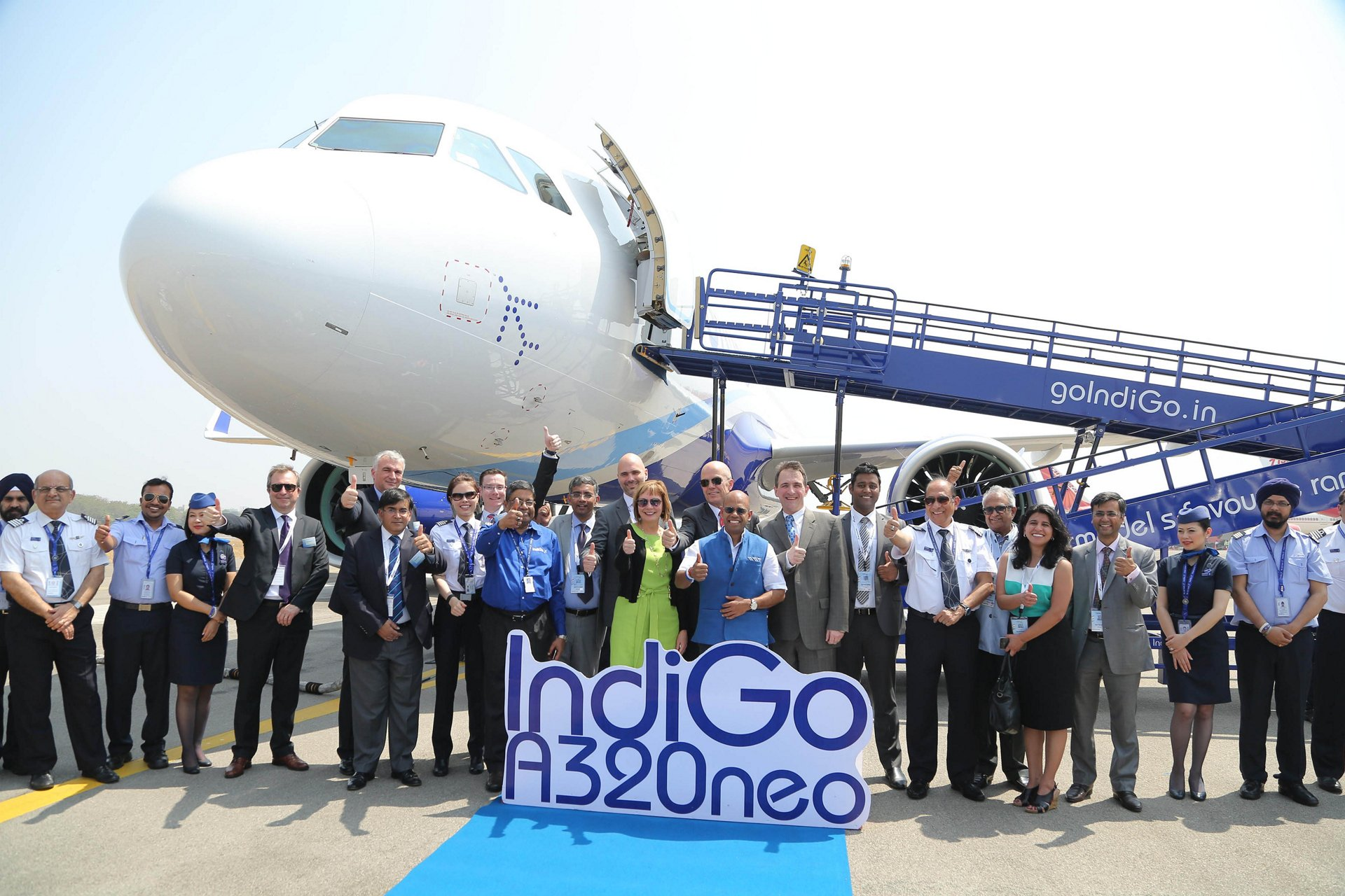 IndiGo A320neo appearance at India Aviation_1