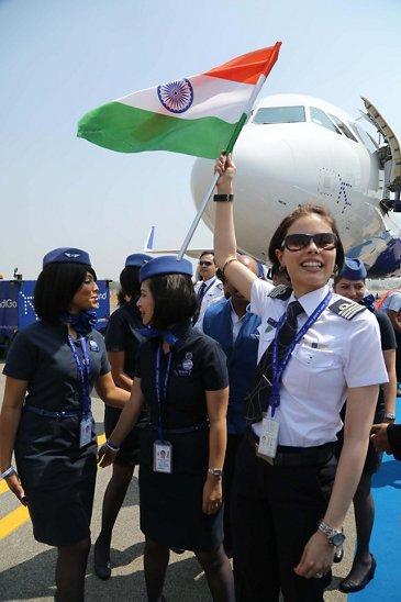 IndiGo A320neo appearance at India Aviation_2