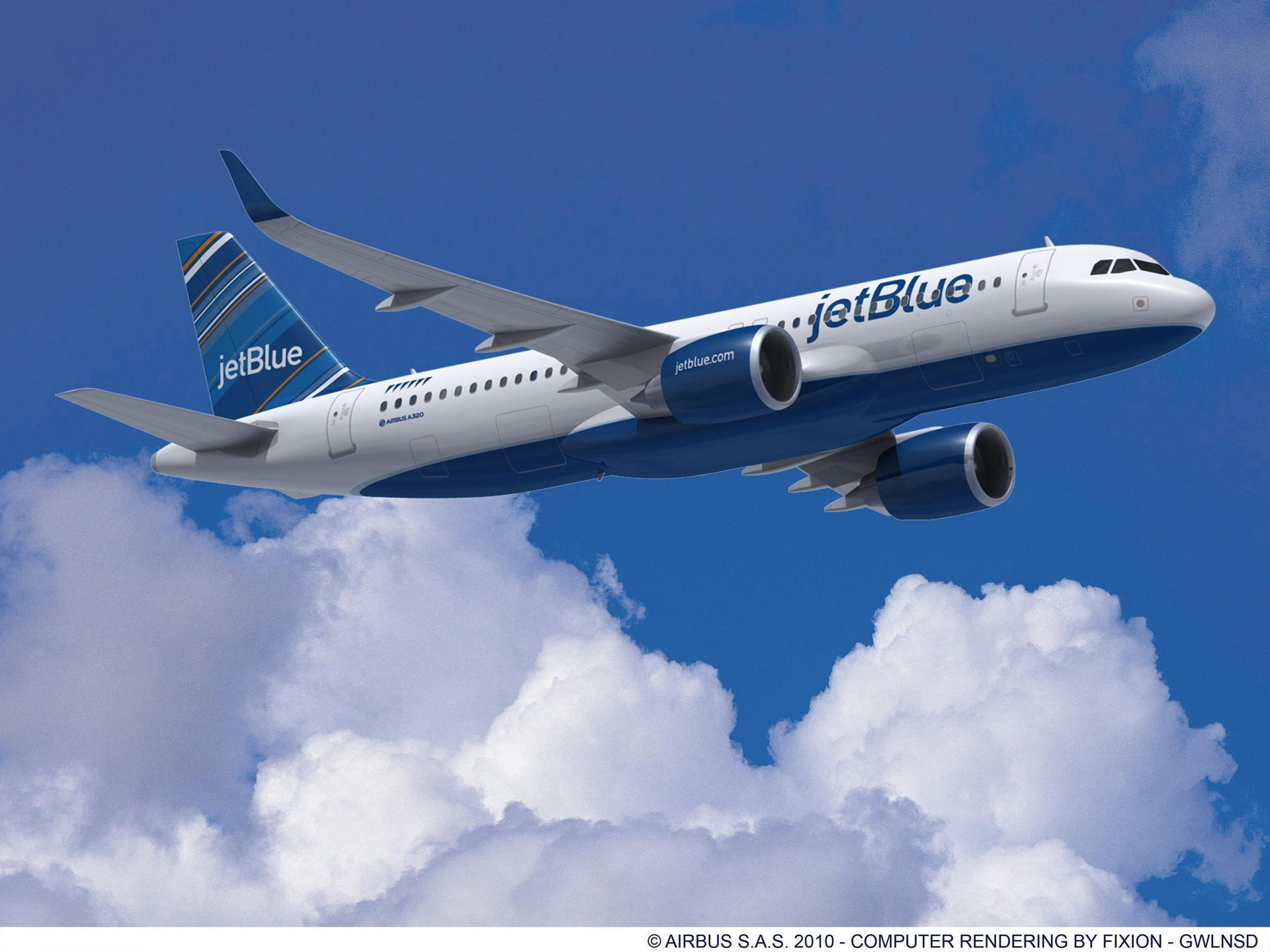 jetblue to order 40 a320neo aircraft