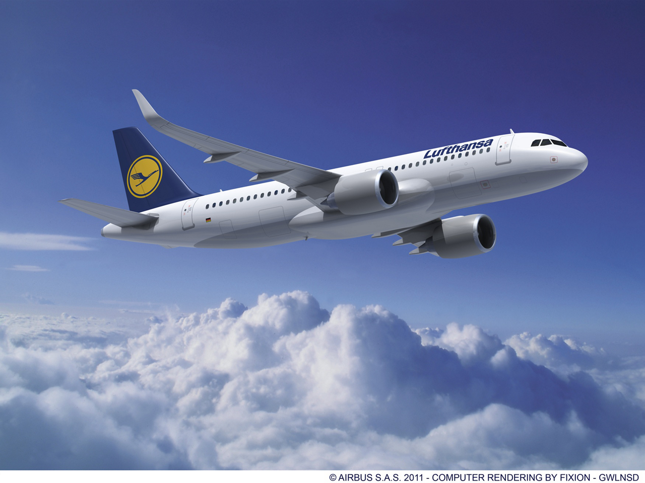 The Lufthansa's Supervisory Board has approved the acquisition of 100 A320 Family aircraft (35 A320neo, 35 A321neo and 30 A320ceo with Sharklets) and two A380s worth approximately US$ 11.2 billion at list prices.