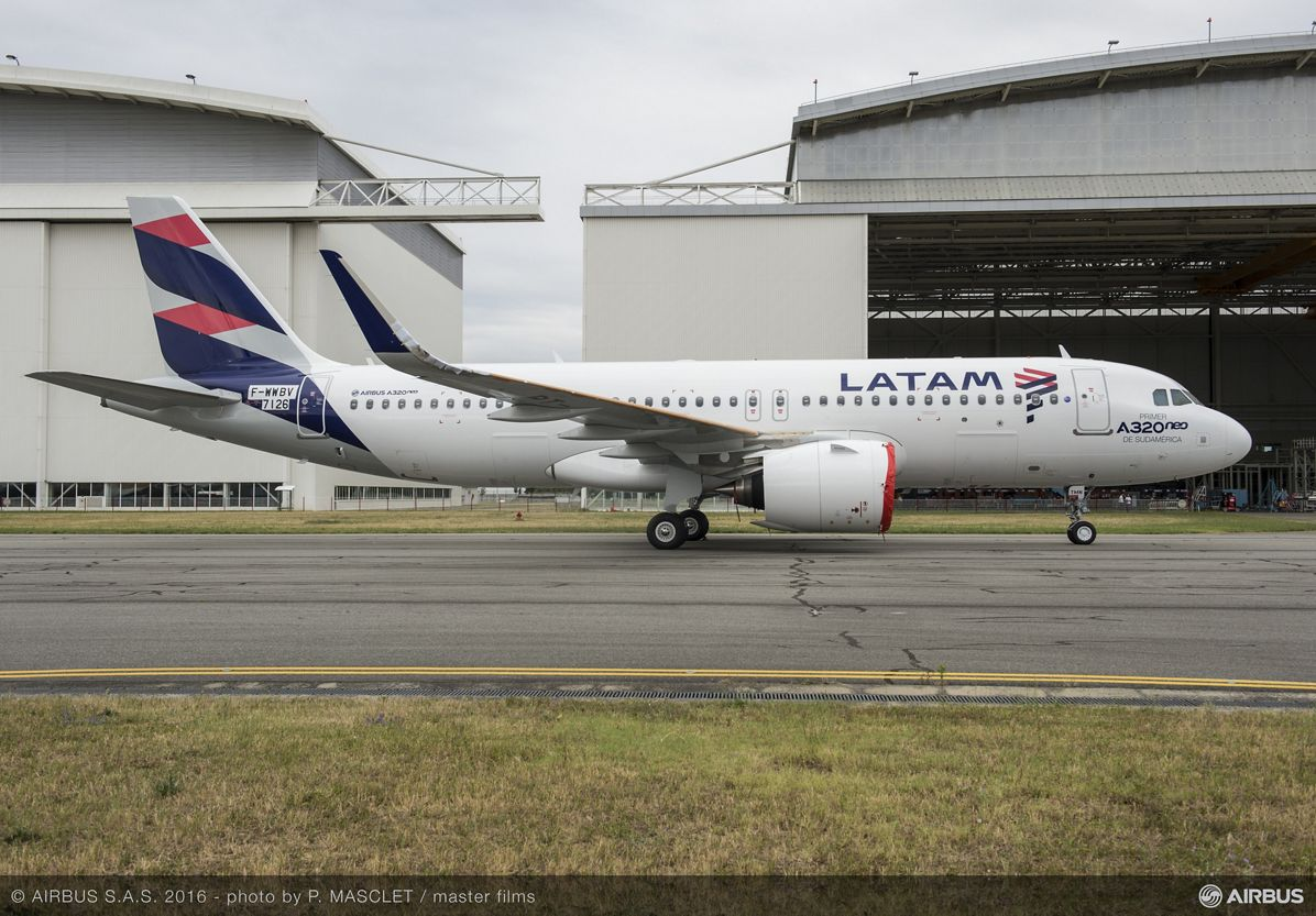 LATAM Airlines reveals their first A320neo