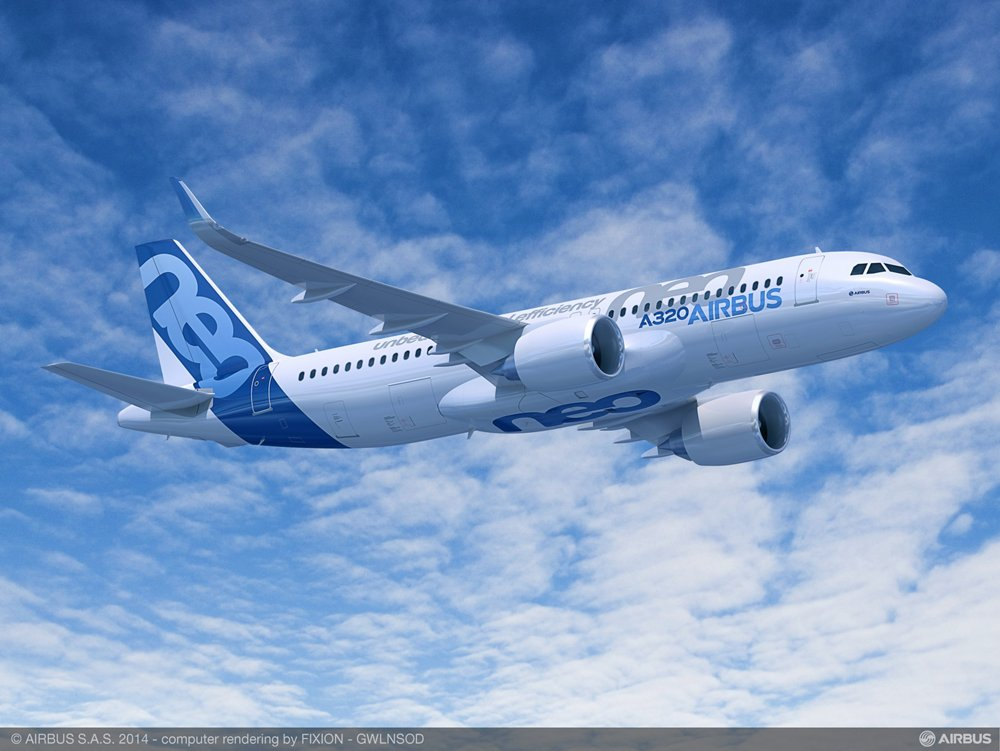 The A320neo (new engine option) provides high levels of efficiency with two new jet engine choices – the PW1100G-JM from Pratt & Whitney and CFM International's LEAP-1A