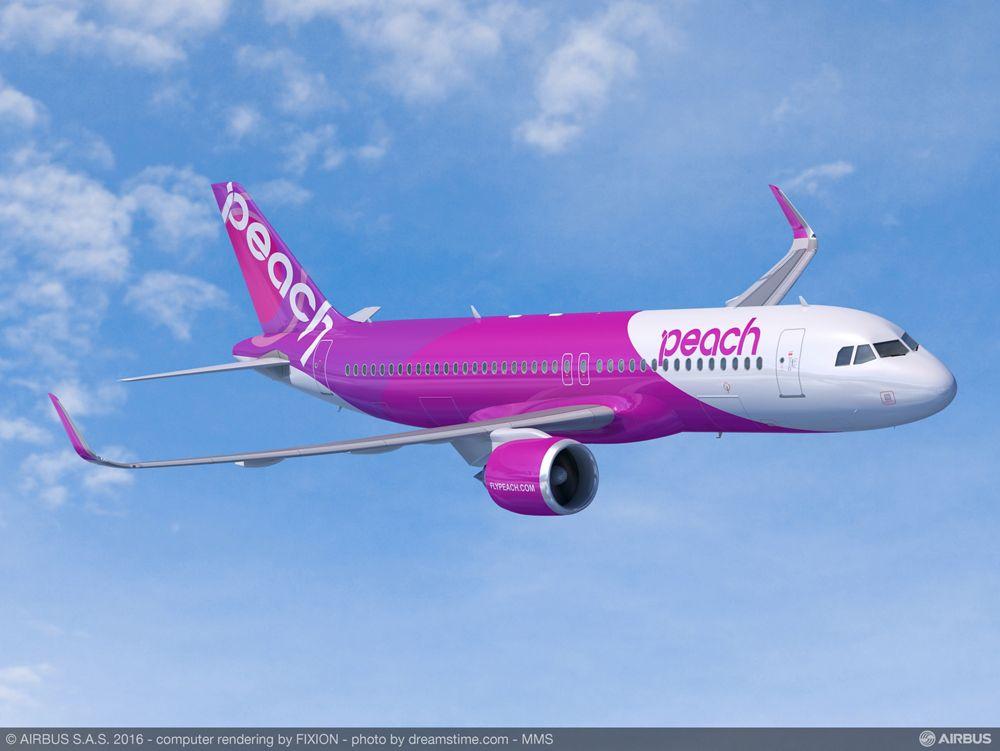 A320neo_Peach Aviation