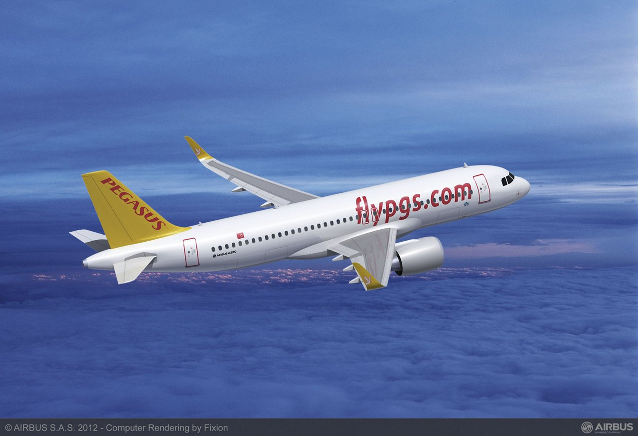 Pegasus Airlines signed for up to 100 A320neo Family aircraft, including 75 firm orders – representing the largest single commercial aircraft order ever placed by an airline in Turkey