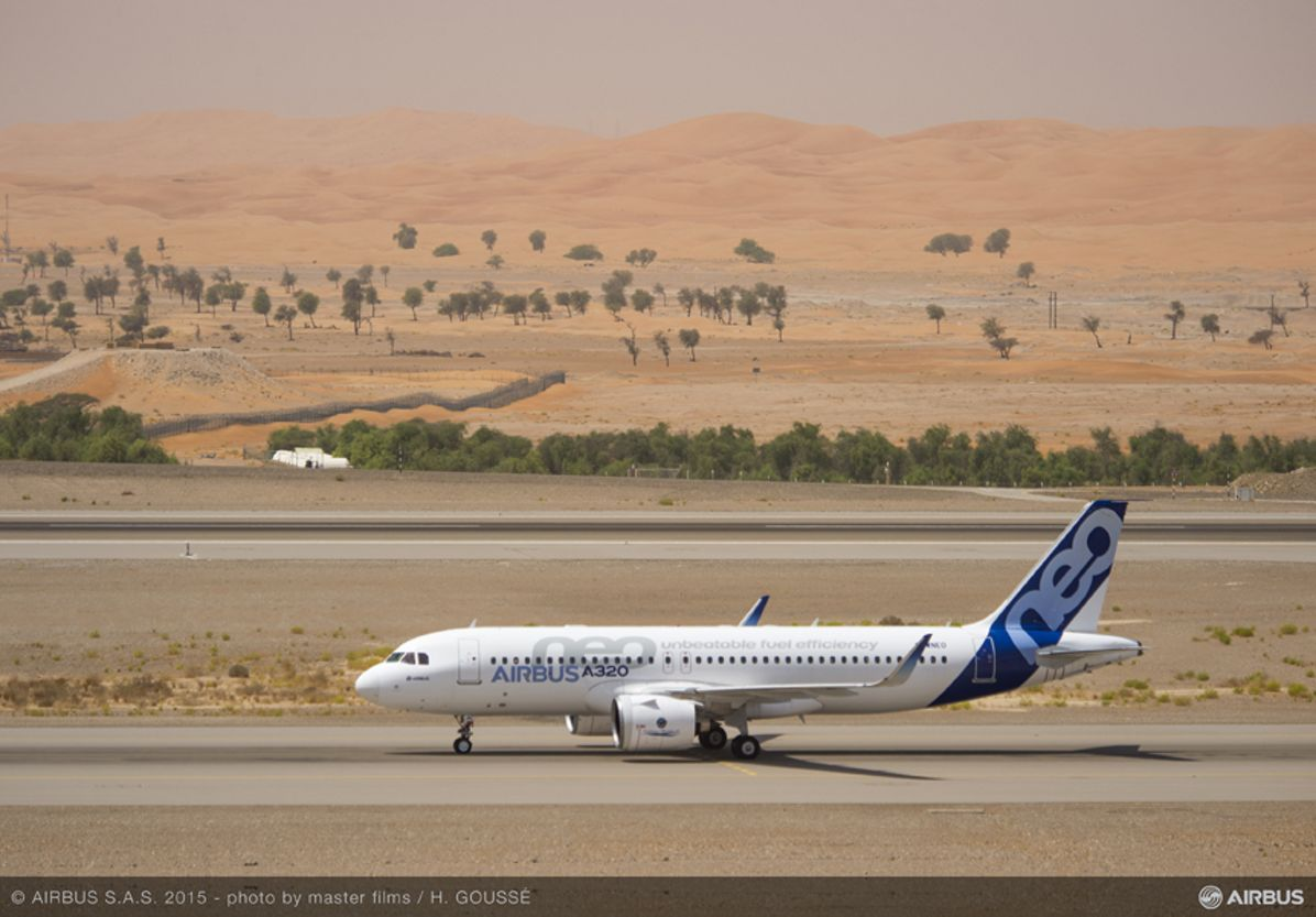 A320neo hot weather test with Pratt & Whitney engines_3