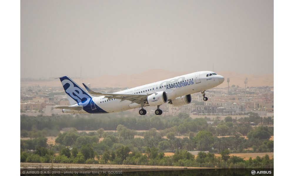 A320neo hot weather test with Pratt & Whitney engines_2