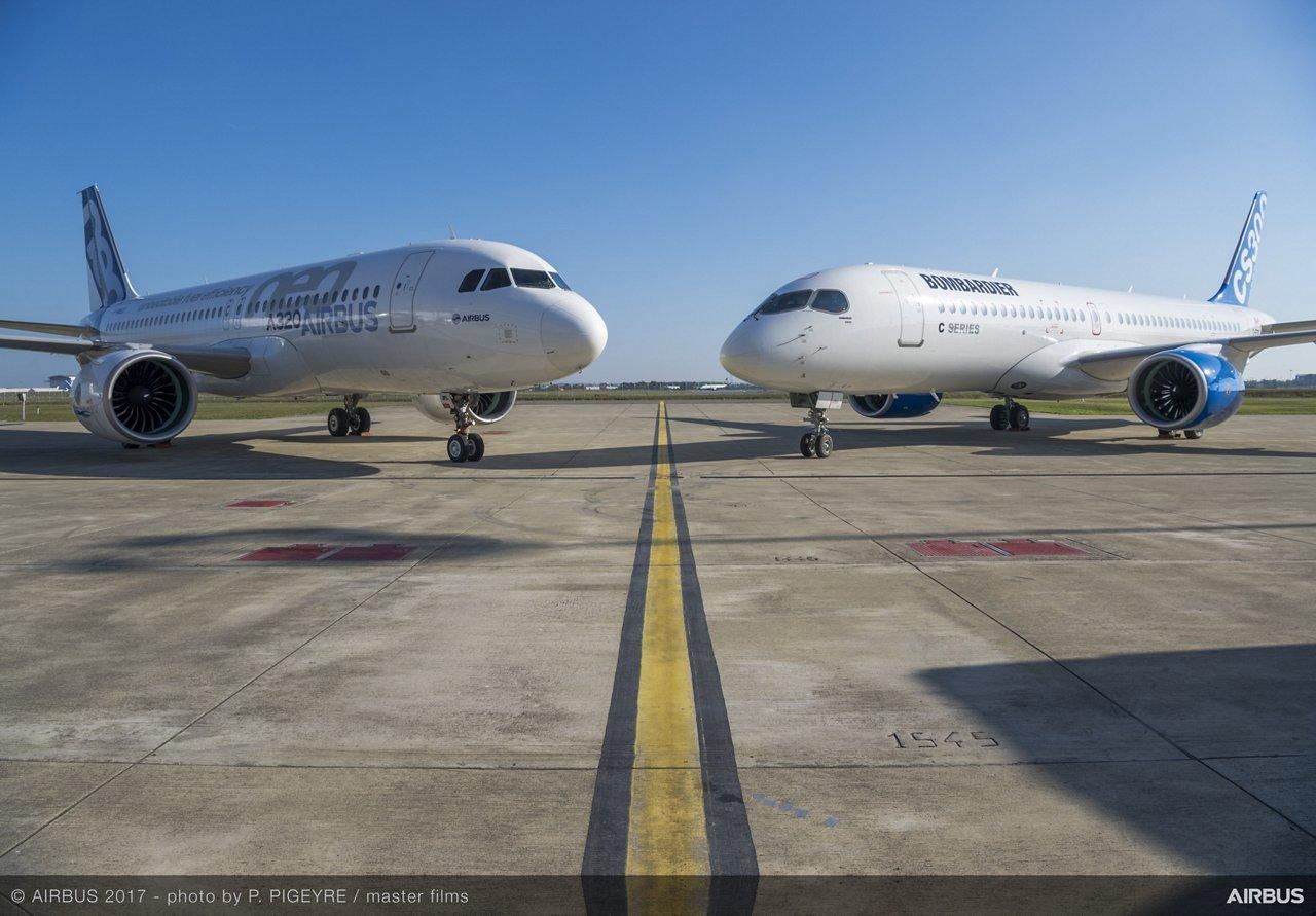 Airbus and Bombardier C Series partnership 4