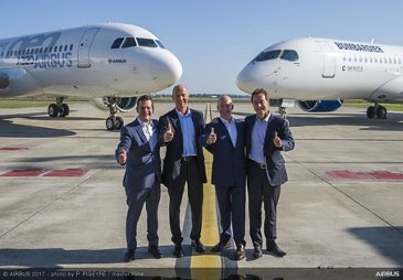 Airbus and Bombardier C Series partnership 7