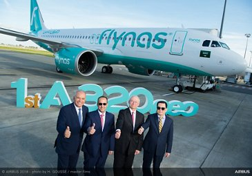 First A320neo Flynas delivery