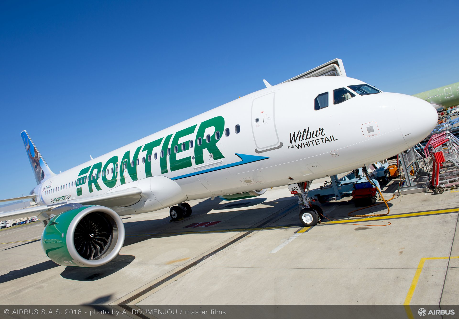 Frontier Airlines' first A320neo_1