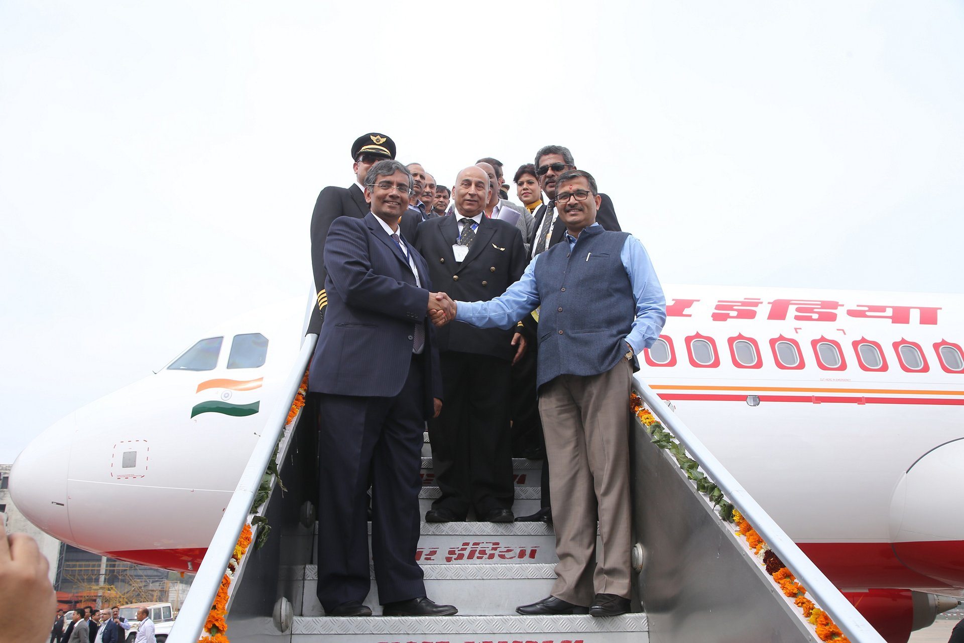 First Air India A320neo_Arrival