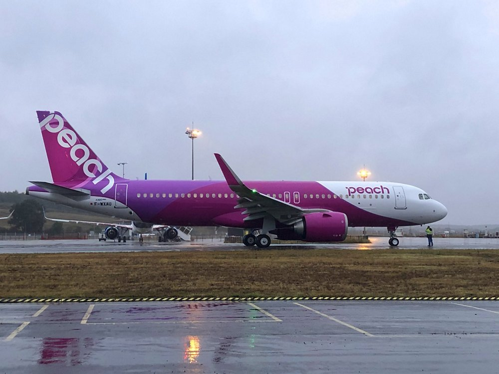 Peach Aviation First A320neo
