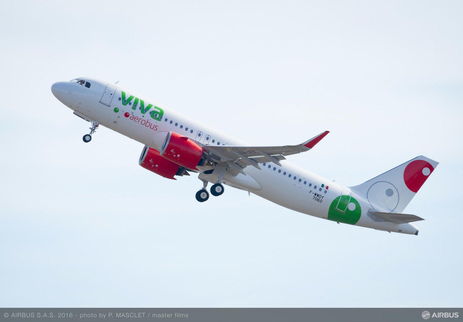 A320neo_Viva Aerobus