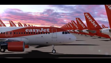 Watch easyJet's first of 130 Airbus A320neo aircraft come together