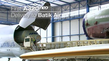 In the making: First A320neo for Batik Air