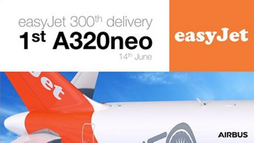 easyJet takes delivery of Its first A320neo